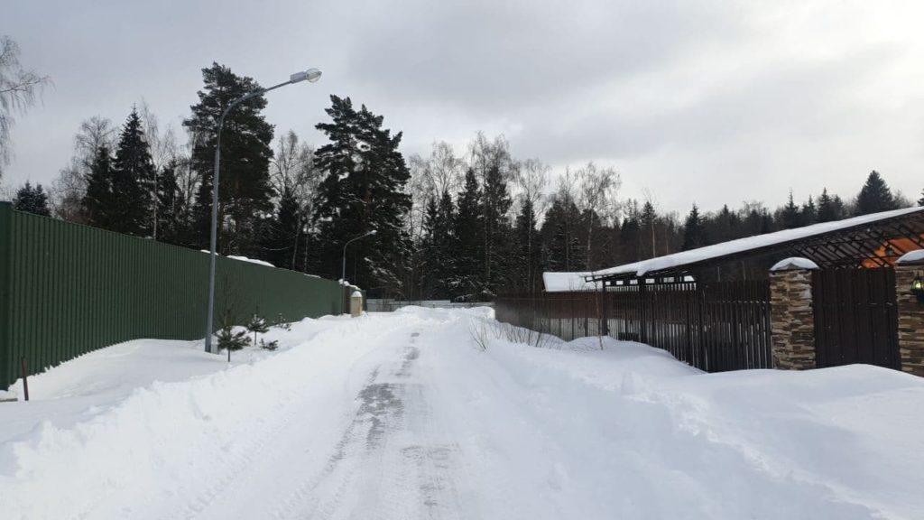 "Зима в поселке ""Соколово Форест"""